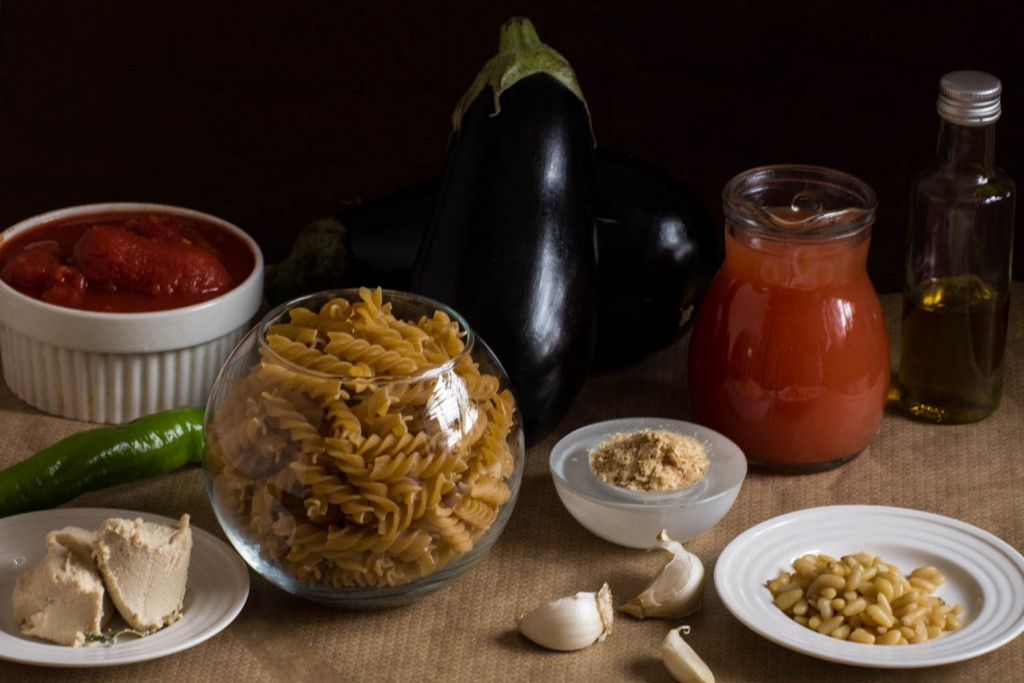 Ingrediente fusilli vinete