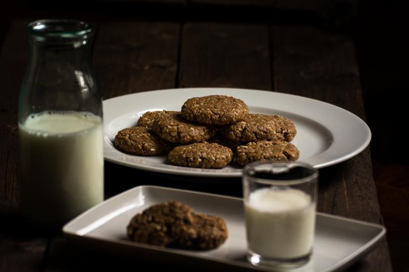 Milk & PB cookies