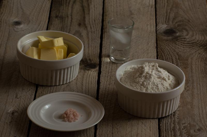 pate brisee -ingredients