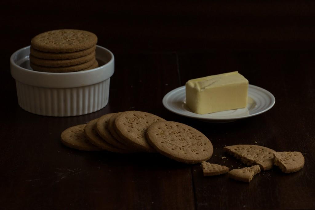 Cheesecake crust - ingredients