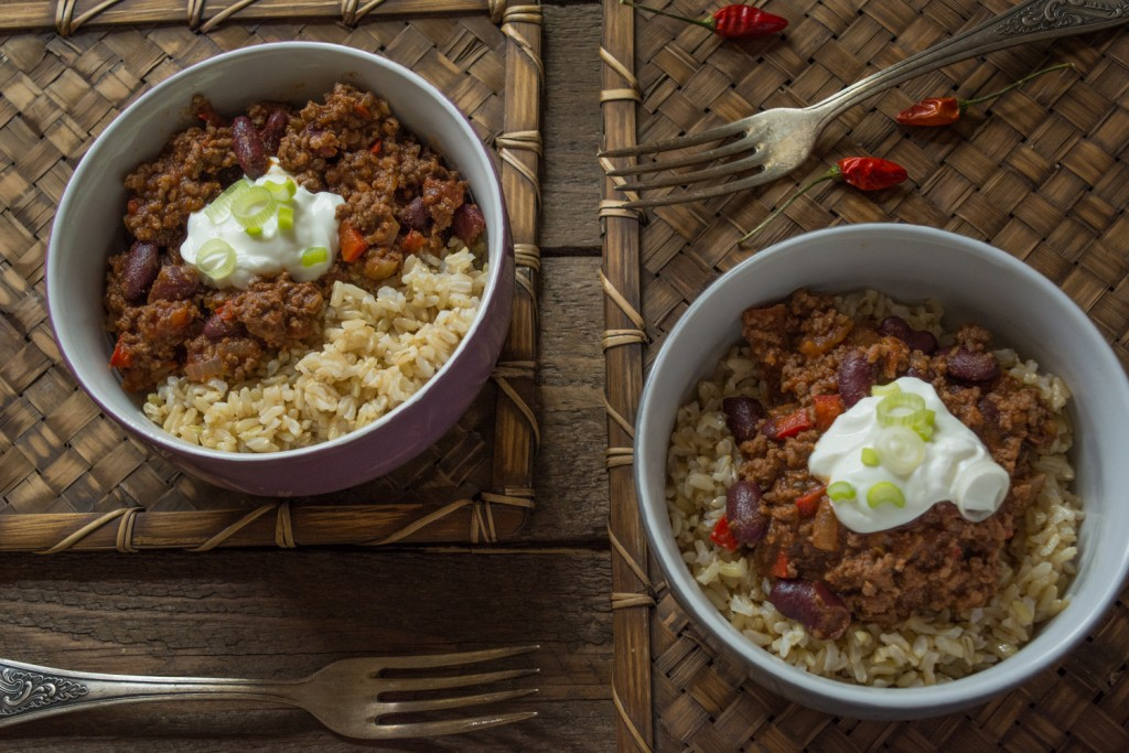 Chilli con Carne - Greek yogurt
