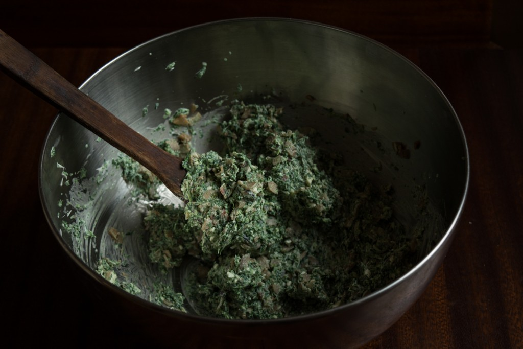 Spinach cream