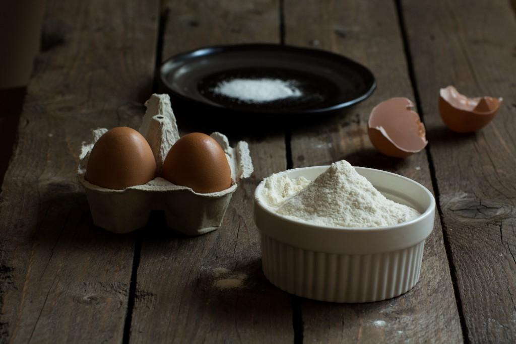 Dumplings - ingredients