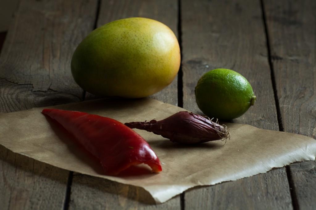 Mango salsa - ingredients