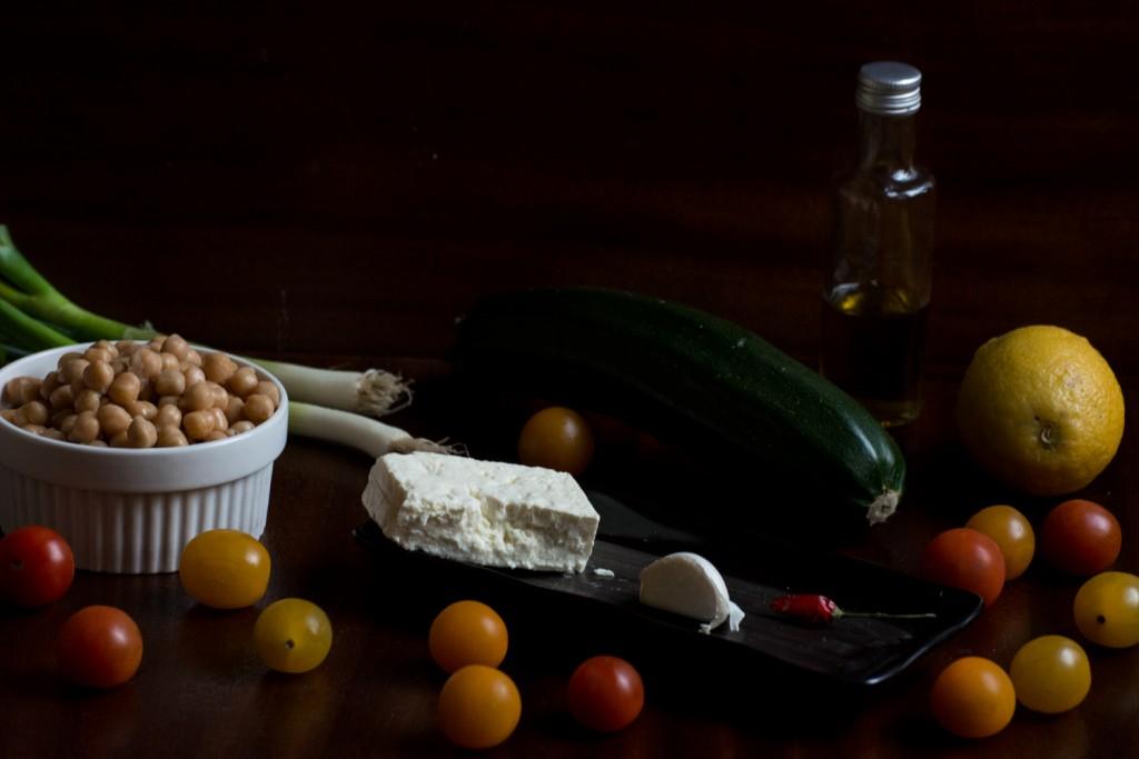 Salad - ingredients