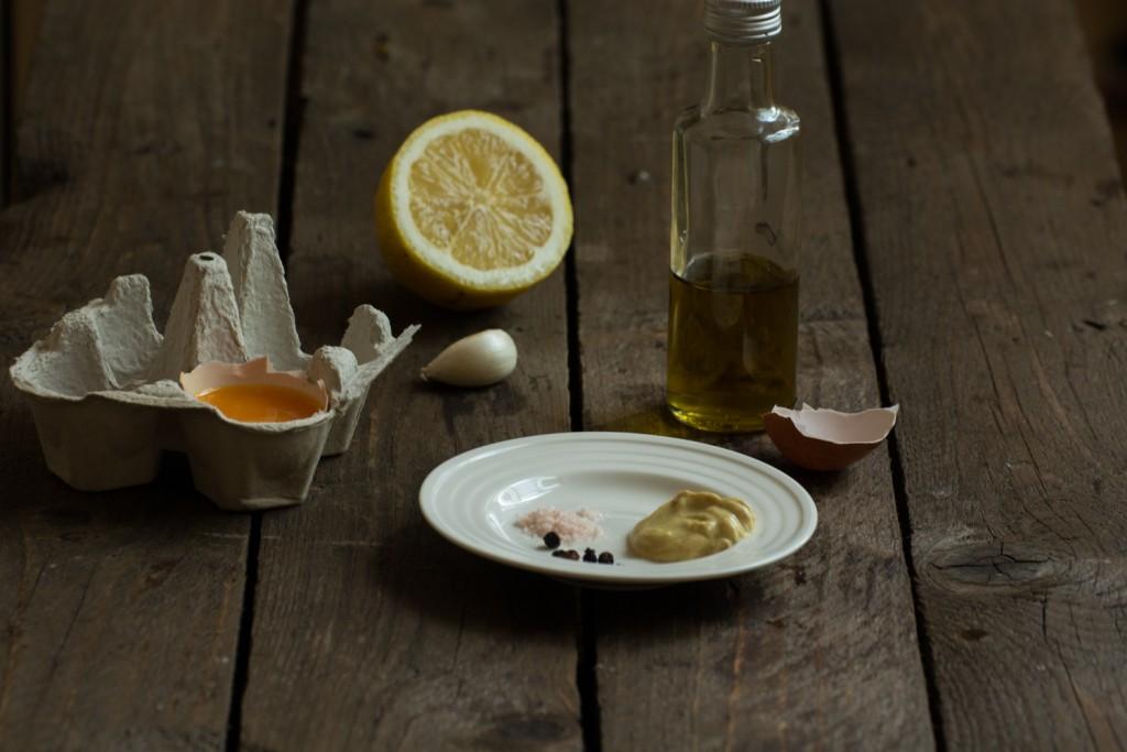 Aioli - ingredients