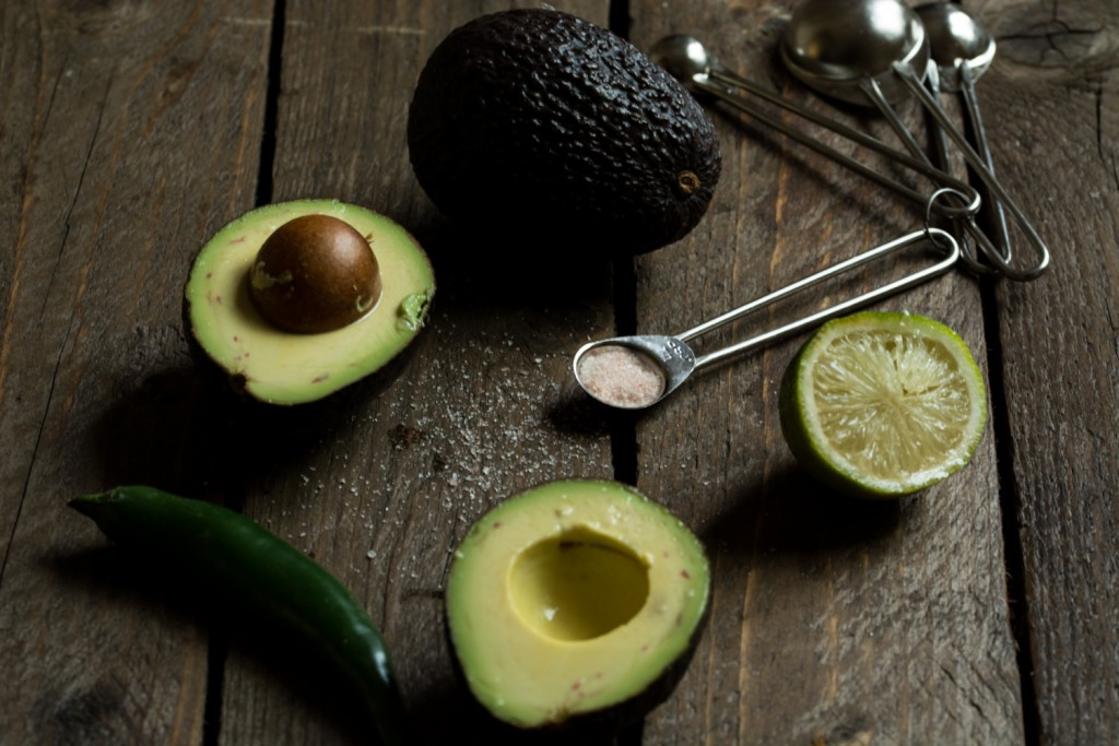 Avocado sauce - ingredients