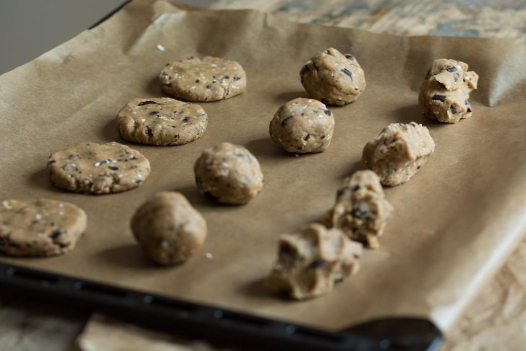 Cookies - before baking