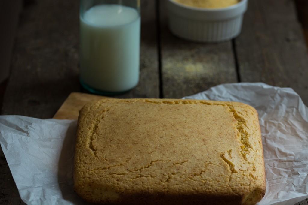 Cornbread - baked