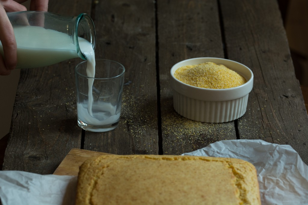 Cornbread - milk