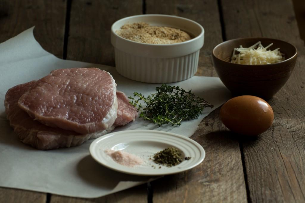Pork chops - ingredients