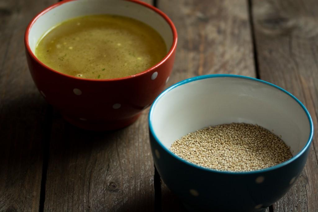 Soup & Quinoa