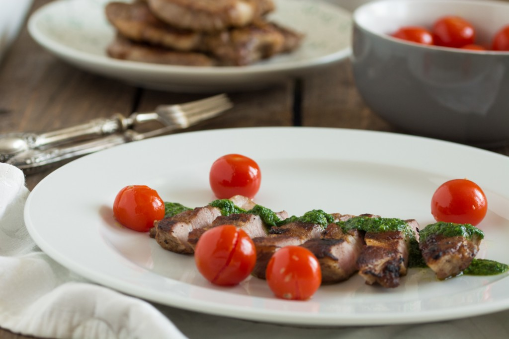 Tagliata - roasted cherry tomatoes
