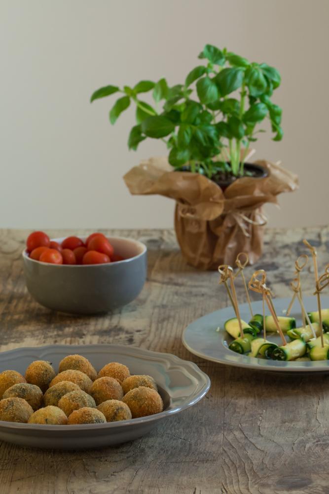 Crispy olives
