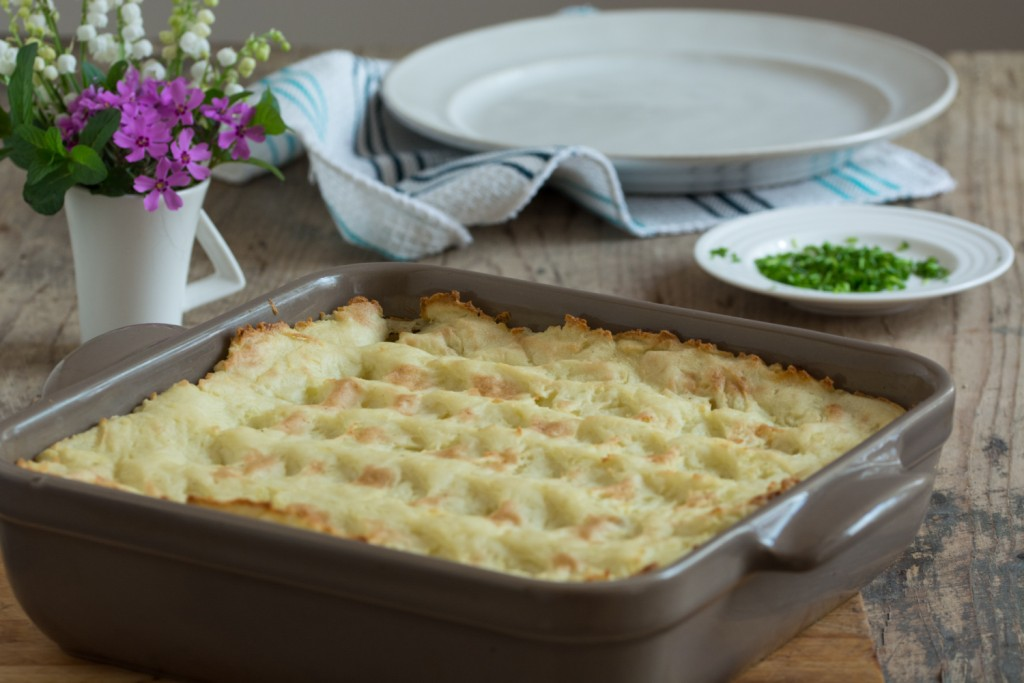 Vegan cottage pie