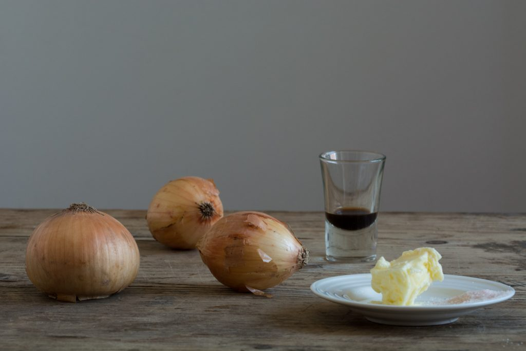 Caramelized onion - ingredients