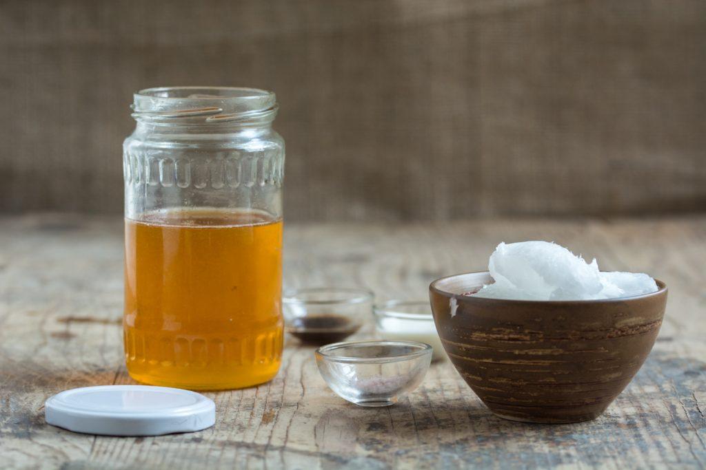 Honey icing - ingredients