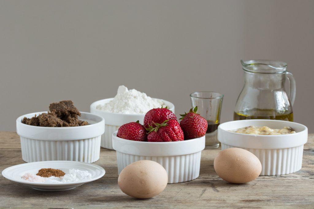 Muffins - ingredients