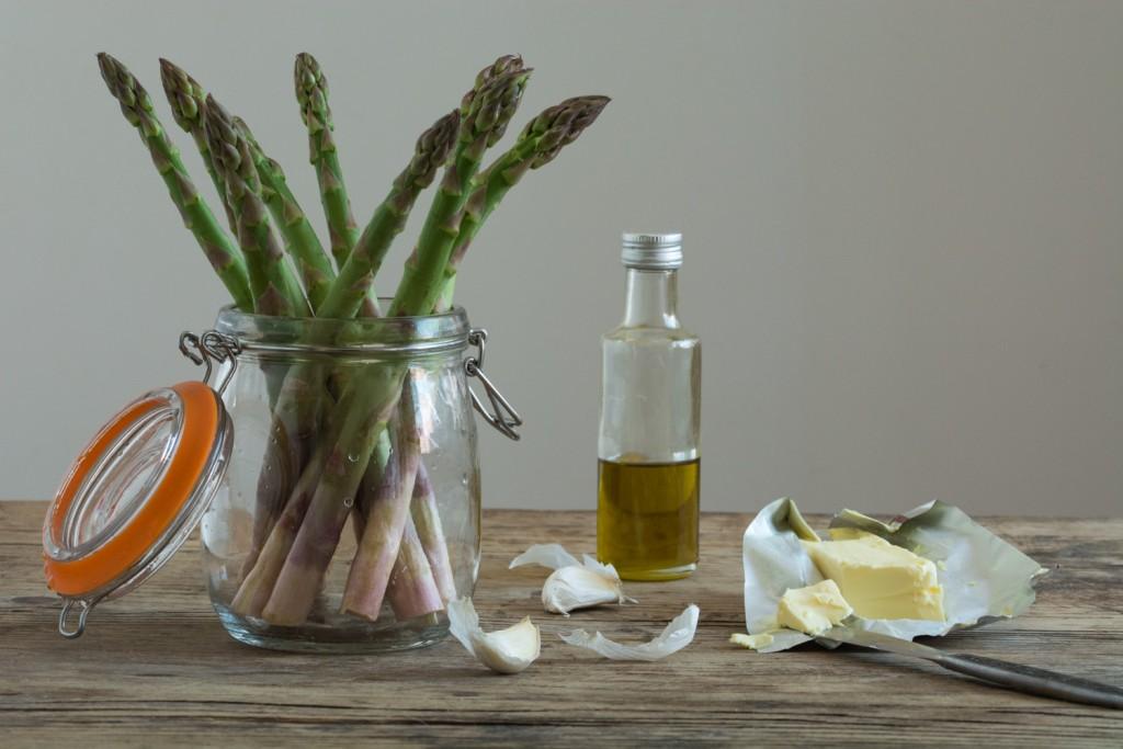 Sautted asparagus