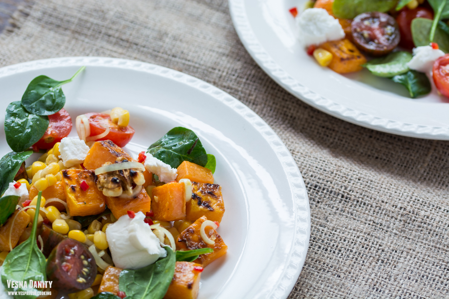 pumpkin-corn-salad