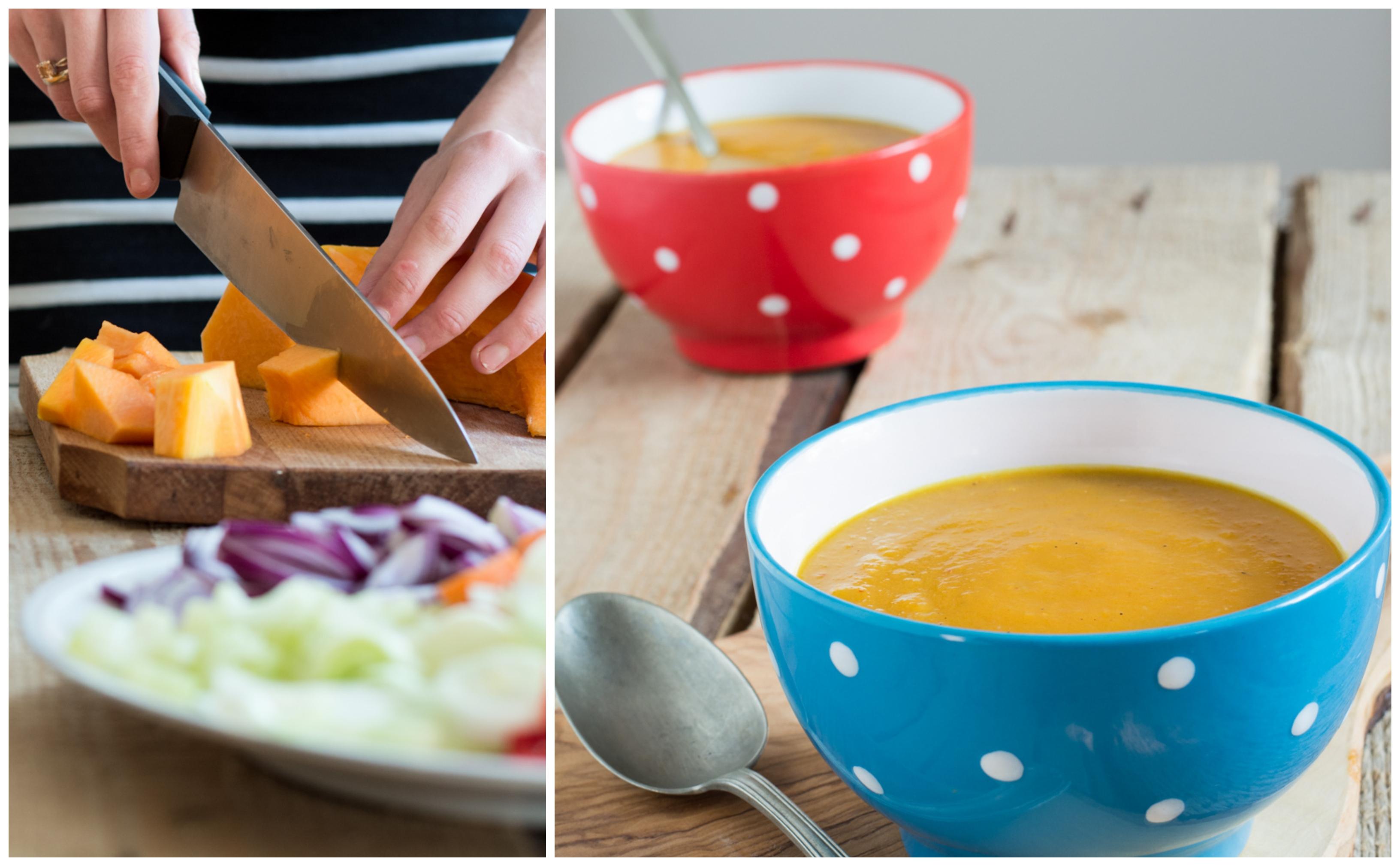 Supă-cremă de dovleac (vegan / de post)