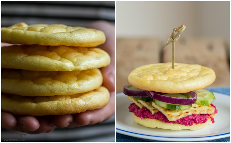 Pâine – norișor (din 3 ingrediente)
