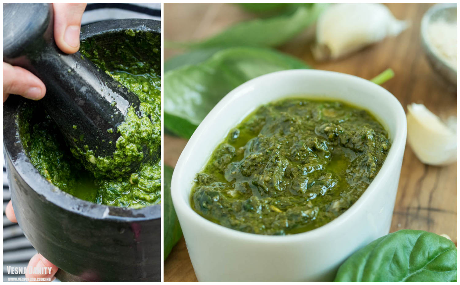 Pesto alla Genovese (vegan / de post)