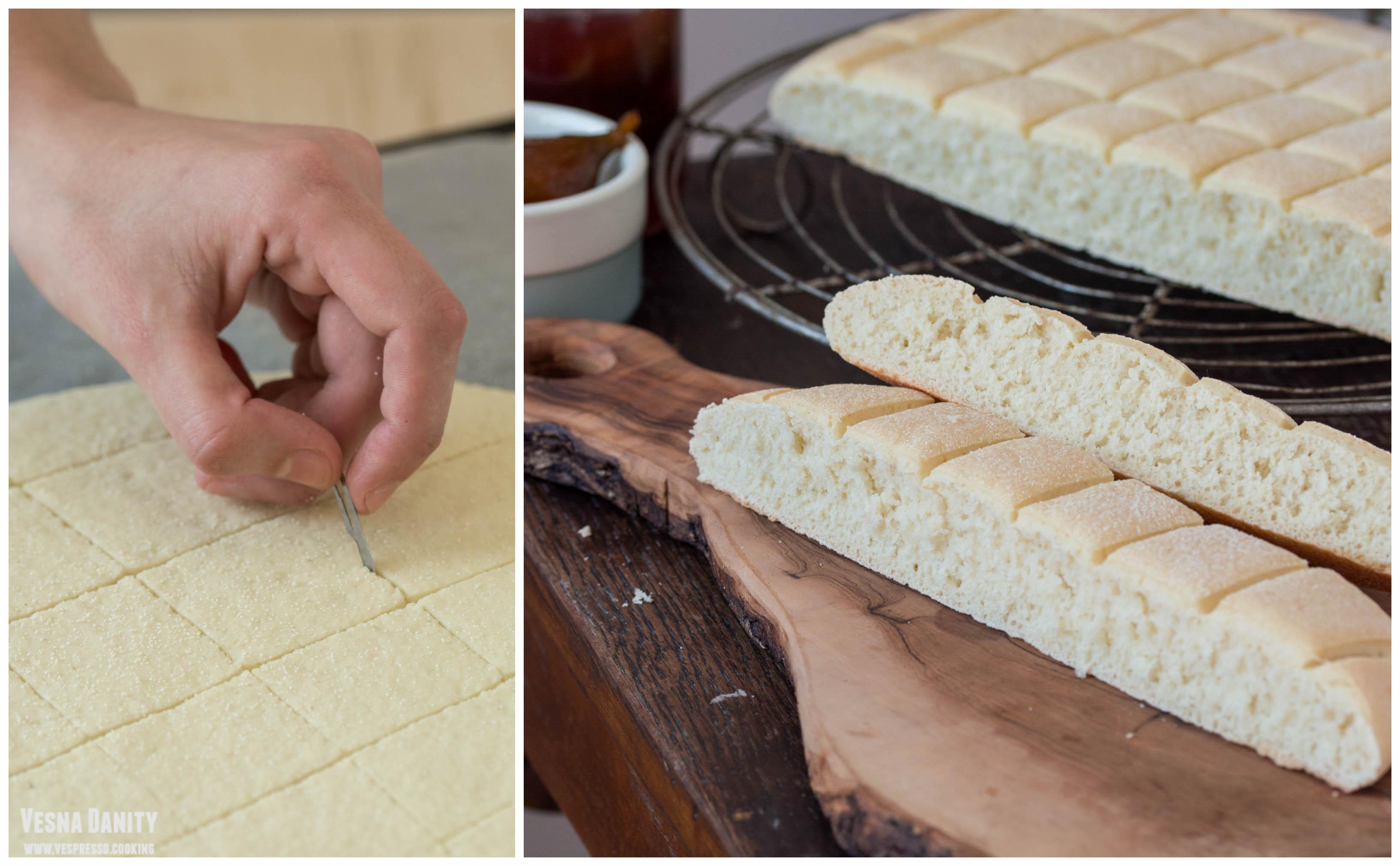 Pâine marocană cu griș – Khobz dyal Smida (vegan / de post)
