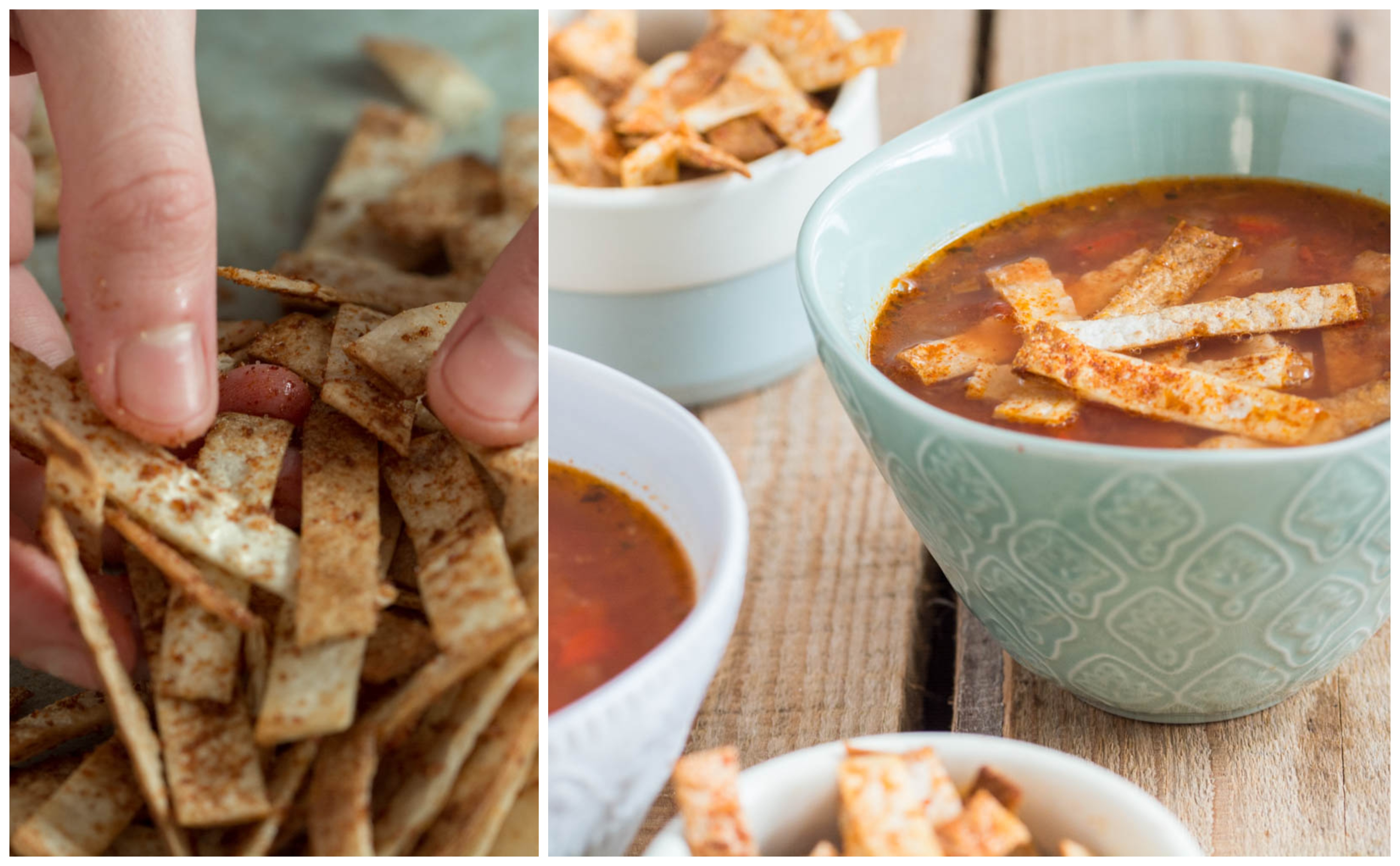 Tortilla Soup (Vegan)